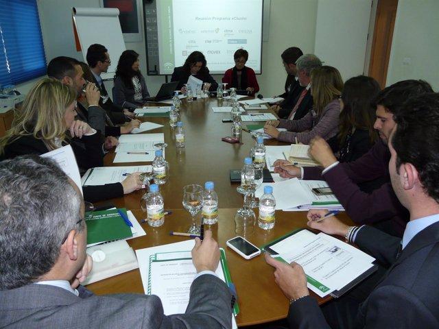 Reunión Del Programa 'Ecluster' En El CTAP De Macael