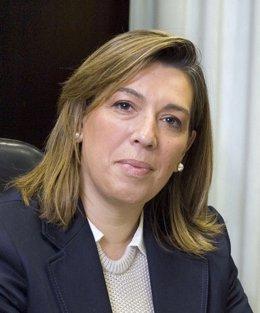 La Senadora De UPN Amelia Salanueva.
