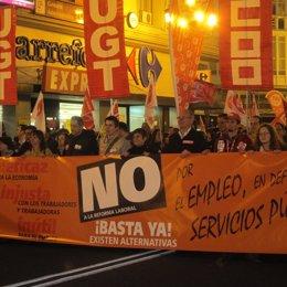 Protesta En Santander