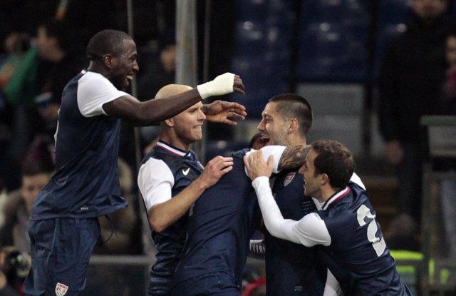 Estados Unidos Sorprende A La Italia De Prandelli (0-1)
