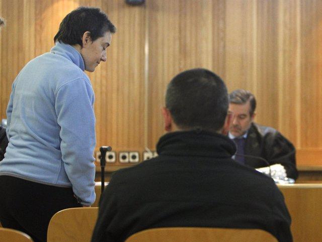 El Etarra Oskarbi Jauregui (Izquierda), Juzgado Junto Con Patxi Xabier Makazaga