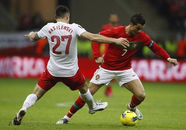 Ni Ronaldo Ni Portugal Pueden Con Polonia