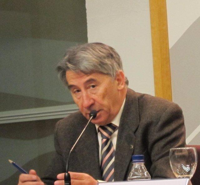 El Presidente De CEPYME-Aragón,  Aurelio López De Hita.