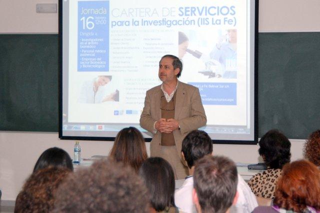 El IIE La Fe Presenta Sus Servicios A Investigadores Y A Entidades