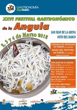 Cartel Del Festival De La Angula