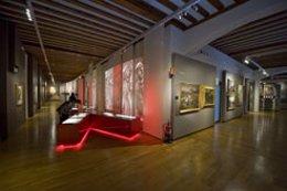 Interior del Museo del Carlismo, en Estella.