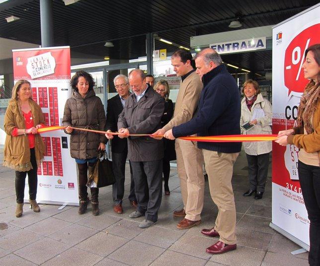 De La Riva, Durante La Inauguración De La Feria Del Stock