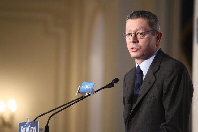 Ministro De Justicia, Alberto Ruiz Gallardón