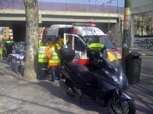 Accidente En Méndez Álvaro