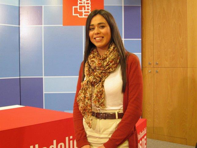 Elena Pastor, Candidata A La Secretaría De JSE-Valladolid.