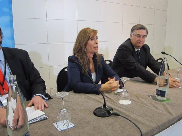 Alicia Sanchez Camacho En Las Jornadas De' Economia, Sociedad Y Familia'