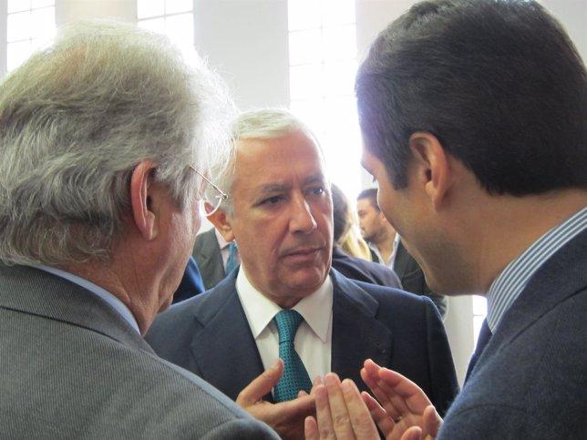 Arenas Habla Con El Presidente De CECO Y El Alcalde De Córdoba