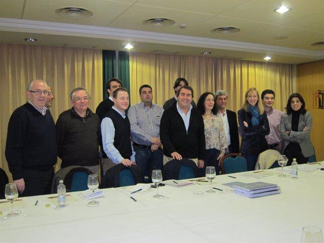 Reunión De Carlos Negreira Y Diego Calvo Con Alcaldes Del Sur De A Coruña