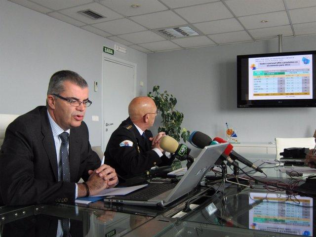 El Director Xeral De Emerxencias Y El Comisario Jefe De La Policía Autonómica