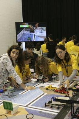 Un Equipo Navarro En La Competición Regional Del First Lego League