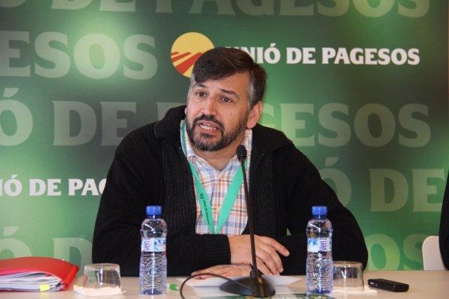 El Coordinador Nacional De Unió De Pagesos, Joan Caball