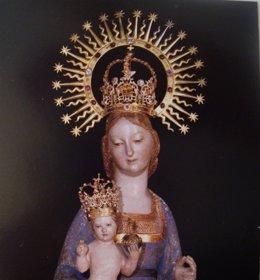 Imagen De La Virgen De La Fuencisla, Patrona De Segovia.