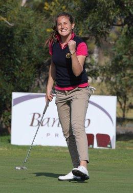 La Golfista Italiana Alessandra Averna