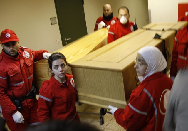 Media Luna Roja En Siria, Cruz Roja