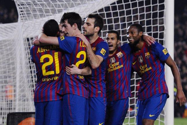 El FC Barcelona Se Impone Al Sporting