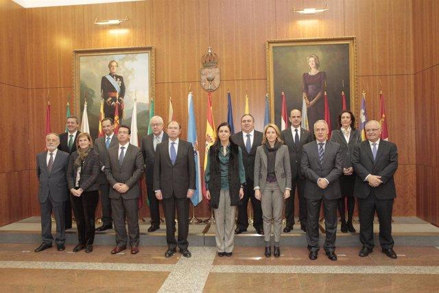 Pío García-Escudero Y Los Presidentes De Los Parlamentos Autonómicos