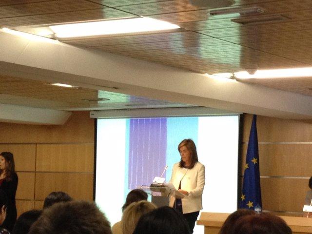 ANA MATO En La Sede Del Parlamento Europeo En España