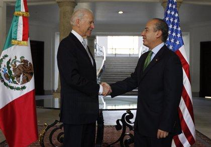Calderón pide a Biden que EEUU frene el flujo de armas hacia México