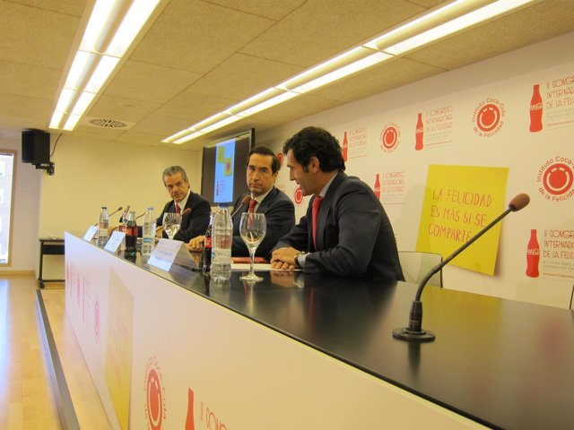 Alonso Puig, Con Los Presidentes De Coca-Cola Iberia Y El Instituto Coca-Cola