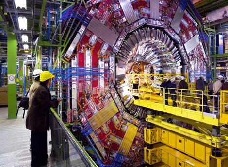 LHC detector CMS