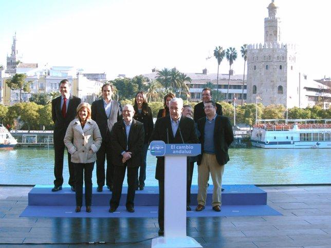 Javier Arenas, En Su Intervención Tras La Presentación De Los Cabezas De Lista