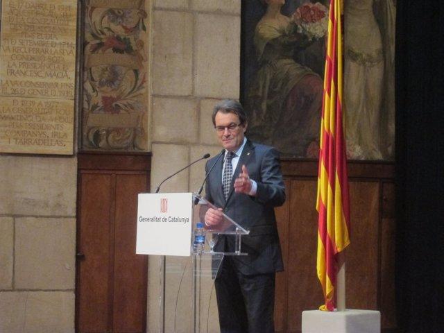 Presidente De La Generalitat, Artur Mas