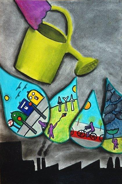 Bayer premia a los ganadores españoles del Concurso Internacional de Dibujo Infantil sobre Medio Ambiente