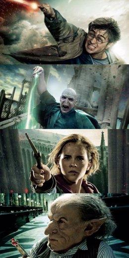 Carteles Del Final De Harry Potter