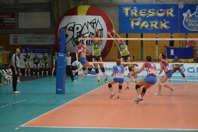 Haro Rioja Voley Y Nuchar Eurochamp Murillo En La Final De Copa De Voleibol