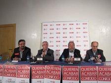 Los Secretarios Generales De Comisiones Obreras (CC.OO.) Y UGT.