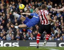 Torres, Titular En La Victoria Del Chelsea Ante El Sunderland
