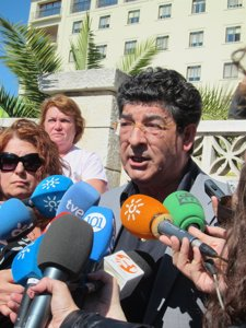 Diego Valderas, Hoy En Málaga