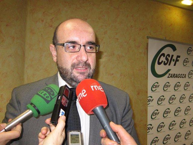 El Presidente Nacional De CSI·F, El Aragonés Miguel Borra