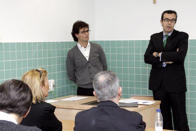 El Secretario Autonómico De Justicia, Antonio Gastaldi