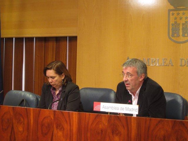 Gregorio Gordo Y Lali Vaquero En Rueda De Prensa