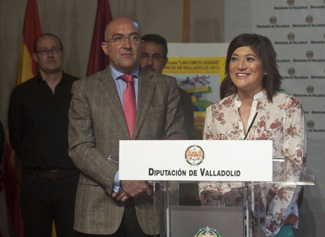 Carnero (D) Y Mayte Domínguez