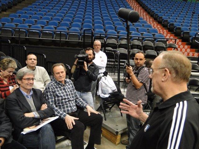 Entrenadores Españoles Viajaron A Estados Unidos Para Ver A Timberwolves Y Bulls