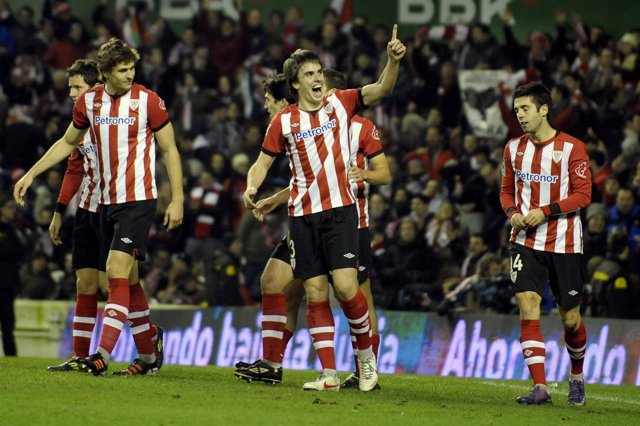 El Athletic Celebra El Pase A La Final