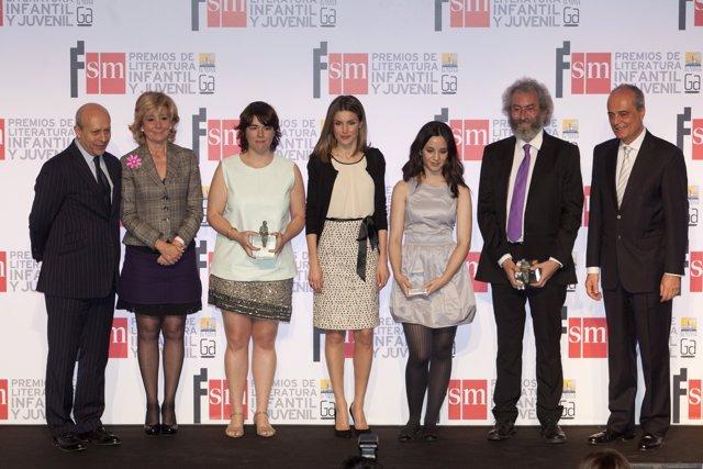 Premios SM 2012, La Princesa De Asturias, Jose Ignacio Wert Y Esperanza Aguirre
