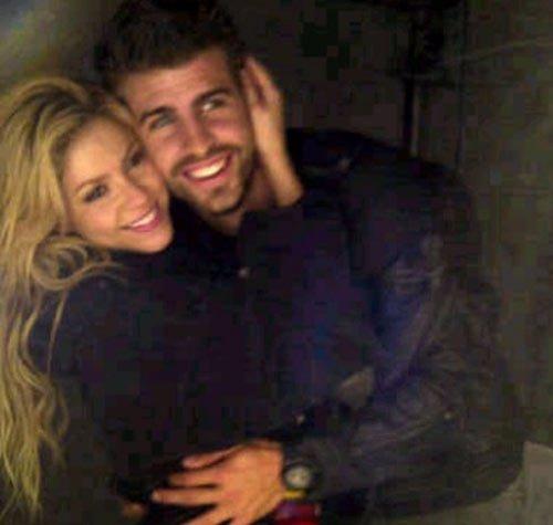 Shakira Y Piqué En El Camerino De Polonia