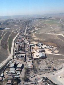 Vista De La Cañada Desde El Helicóptero