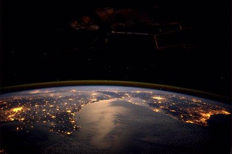 Europa Desde La ISS