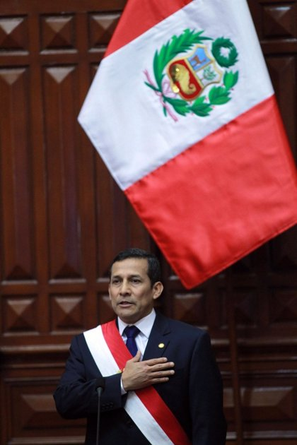 La aprobación de Humala cae tres puntos