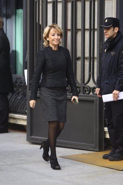 Esperanza Aguirre sugiere eliminar el Defensor del Menor y pasar sus competencias a la Fiscalía