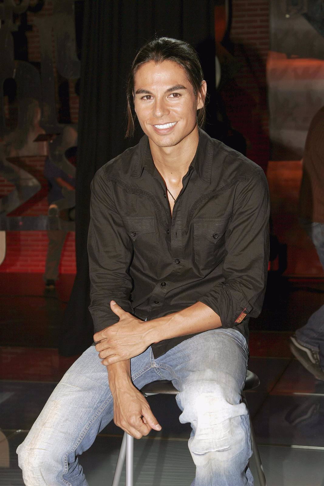El cantante, modelo y actor Julio Iglesias Jr.